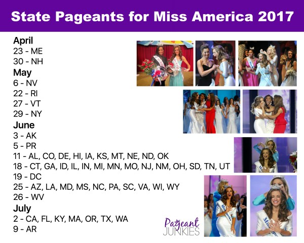 State Pageants 2017