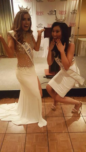 Photo from Miss Michigan Arianna Quan's Facebook page