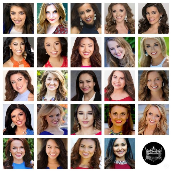 Miss California 2016 Contestants