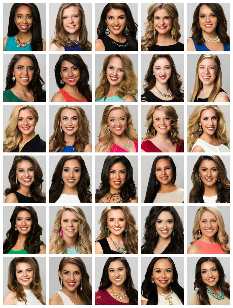 Miss New Mexico 2016 Contestants
