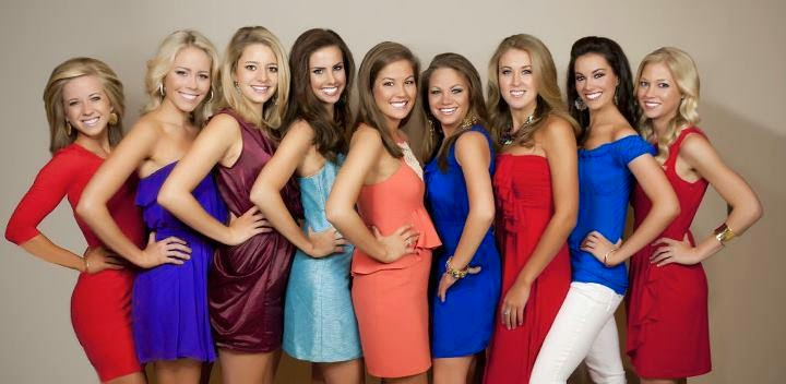 Former OT's competing for Miss America 2012
